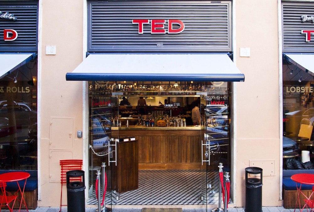 Ted: non un semplice ristorante di pesce a Roma